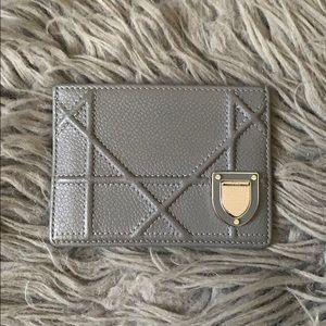 DIOR Diorama Card Case Wallet